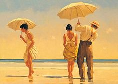 Mad Dogs by Jack Vettriano - stunning print from 1996