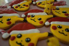 Pikachu Pokémon Santa Kekse / Pokémon Weihnachtskekse