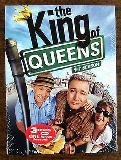 cool The King of Queens ~ Complete First Season ~ 3 DVD Set ~ SEALED! - For Sale View more at http://shipperscentral.com/wp/product/the-king-of-queens-complete-first-season-3-dvd-set-sealed-for-sale-3/