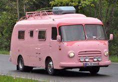 pink motor home