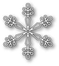 Stanzform - Memory Box - New Castle Snowflake - papierwerkstatt - der onlineshop