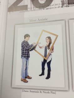 Superlative idea - love the white backgrounds to focus on the people