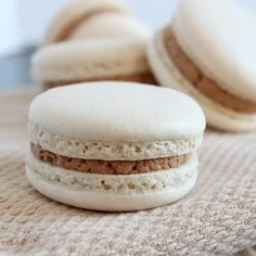 Espresso Macarons with Mocha Filling