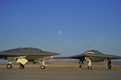 X-47B Unmanned Combat Air System, Drone, UAV, UCAS, Future Aircraft, Futuristic, Military Technology