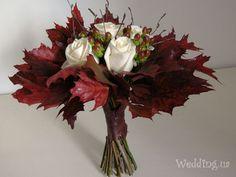Осенний букет невесты - лучшие предложения свадебной флористики для осени