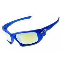 Oakley Scalpel sunglasses polished blue
