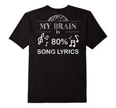 Men's My Brain Is 80 Percent Song Lyrics Southern Girl Sh... https://www.amazon.com/dp/B01GSLFVV2/ref=cm_sw_r_pi_dp_youzxb4P6A5BN