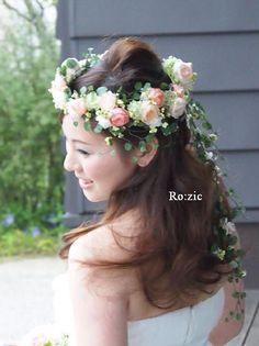 2014.7.31 花嫁さまと花冠 : Ro:zic die floristin