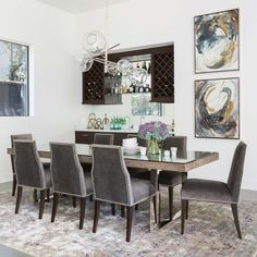 42 Classy Office Chair Design Ideas Using Wood Dining Room Design, Dining Room Chairs, Dining Room Furniture, Side Chairs, Cheap Furniture, Furniture Stores, Dining Rooms, Dining Tables, Furniture Movers