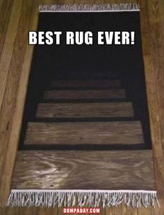 Check out: Funny Memes - Best rug ever! One of our funny daily memes selection. We add new funny memes everyday! The Funny, Funny Shit, Funny Stuff, Funny Kids, That's Hilarious, Funny Things, Random Stuff, Haha, Funny Quotes