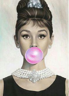 Audrey pompa chicle
