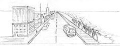 Como dibujar una Ciudad de Fondo con Perspectiva para Historias Manga