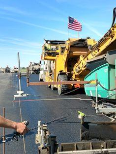 Asphalt Pavement, Road Construction, Civil Engineering, Civilization, Heavy Machinery, Weights