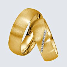Wedding Rings in 14 or 18 k gold with diamonds Width: 7 mmDiamonds: ct brilliantsQuality: Wsi Delivery time about 2 weeks 18k Gold, Wedding Rings, Engagement Rings, Diamond, Jewelry, Diamonds, Jewels, Zaragoza, Enagement Rings