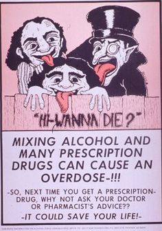 "Images from the History of Medicine (NLM): ""Hi, wanna die?"" - 20th century. I don't understand the vampires."