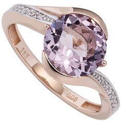 JOBO Diamond Ring 585 rose gold bicolor with 16 diamonds and amethyst Order now at: mode. Source by damenmodeladendirekt Wessel, Jewelry Rings, Cuff Bracelets, Amethyst, Ebay, Sandals, Shoes, Diamonds, Medium