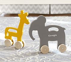 Wood Push Toys | Pottery Barn Kids