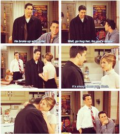 "Ross: ""It's always been you, Rach."""