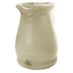 Good Ideas Rain Wizard Urn Rain Barrel - Sandstone
