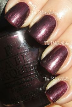 OPI Spring 2012 Holland Collection Vampsterdam