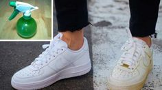 Use This Simple Trick To Clean Your Dirty White Shoes And Make Them White Again - The House of Health