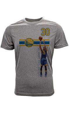 Klay Thompson Golden State Warriors T-Shirt, Youth, Bar Stripe Player Kobe Bryant, Stefan Curry, Durant Oklahoma, Harrison Barnes, Blake Griffin, New Orleans Pelicans, Anthony Davis, Indiana Pacers, Sports