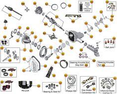 dana model 30 axle parts for grand cherokee zj