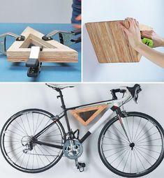 Creative DIY Bike Storage Racks