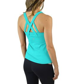 Love this Green Opal Just for You Tank on #zulily! #zulilyfinds