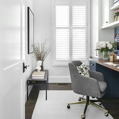 Creative Home Office Design Ideas. Therefore, the requirement for house offices.Whether you are intending on adding a home office or refurbishing an old room into one, below are some brilliant home office design ideas to assist you start. Small Office Decor, Home Office Space, Home Office Design, Home Office Decor, House Design, Home Decor, Office Designs, Office Spaces, Design Design