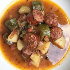 #Greek #Spetzofai #sausage #stew #welsh #organic #vegetable  #σπετζοφάϊ with a twist #food
