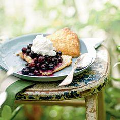 Summer Desserts | Gingered Blueberry Shortcake | CookingLight.com