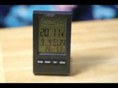 B01JOKOO1W  VersionTech Thermomètre Horloge Hygromètre Numérique Station...