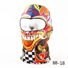 Animal Balaclava Mask for Military, Cycling, Paintball, Skiing & Snowboarding with Anti UV Rays
