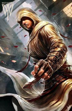 Les fan arts geeks de Wizyakuza - Altaïr Assassin's Creed