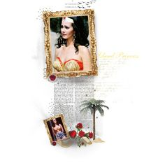 Lynda Carter as the Island Princess, created by janeaustenaddict on Polyvore