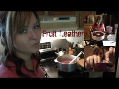 Video-How to Make Fruit Leather - (dehydrator) YouTube