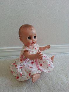 "Vintage 10"" plastic baby doll.   Mary Hoyer Cathy."