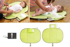 Baby Toddler Nappy Diaper Changing Clutch/Mat/Foldable Pad/Handbag/Wallet style | eBay