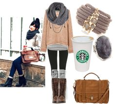 """""""Cute Clothes & Comfy"""" by missebis ❤ liked on Polyvore"""