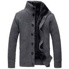 Partiss Men's Stand Collar Knitted Cardigan Sweater Chinese L,Dark Grey Partiss http://www.amazon.ca/dp/B017QXYUFY/ref=cm_sw_r_pi_dp_GhTuwb0MWT2A4