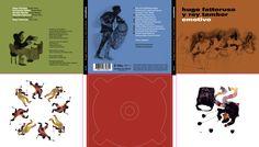 Emotivo, de Hugo Fattoruso y Rey Tambor. Ilustraciones de Fernando Kats. Diseño y realización de Carlos Carpintero para ZkySky.