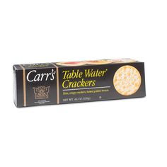 Carrs Table Water® Crackers www.theteelieblog.com  Sophisticated flavor, texture and aroma. With Carr's you can count on a combination of quality ingredients and refined taste that have kept this rich English heritage alive for more than 160 years. #thrivemarket