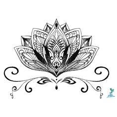 Yeeech Temporary Tattoo Paper Lotus for Hand Sex Product