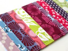 Placemats... inspiration from quilting