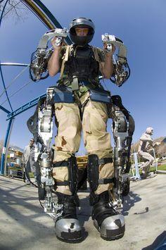Raytheon Sarcos exoskeleton - Via Google Images