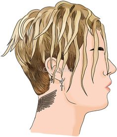 Justin Bieber Dreads by Outlyning Designs