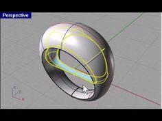 3 minutes | Rhino 3d modeling - Basic Ring                                                                                                                                                      Mais