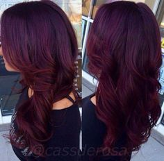 Such A Pretty Color!!// Hair Color Ideas// Hairstyle Ideas// Red Brunette Hair color// Long hairstyles// Layer Hairstyles