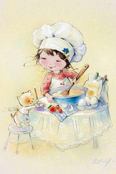 chef.quenalbertini: Catherine Babok Art